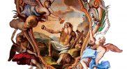 San-Jeronimo,-pintura-central-en-el-cielo-raso-de-la-sala-de-la-Fama